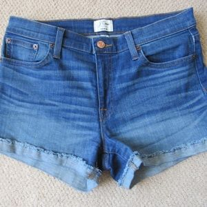 J Crew denim shorts sz 28